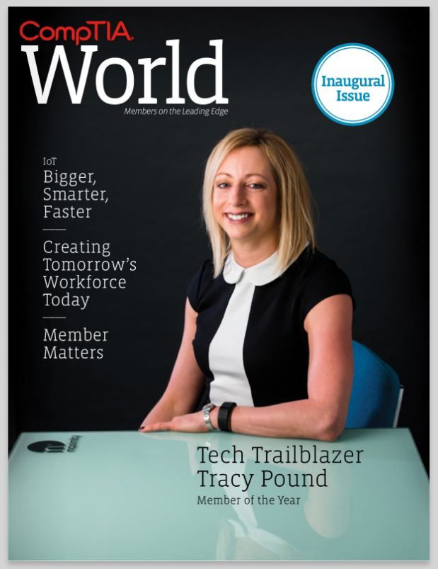 Hold the front page – MaximITy's Tracy Pound is on IT!