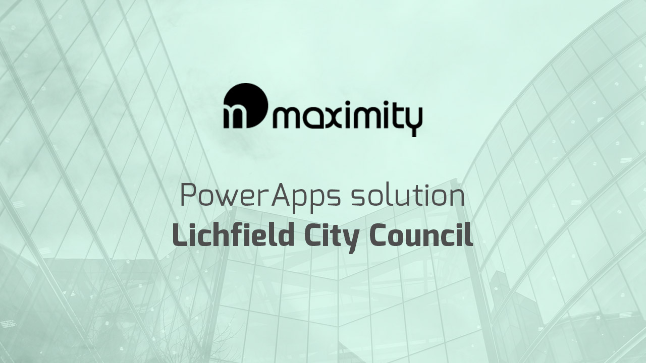 PowerApps solution for Lichfield City Council